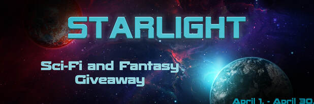 Starlight, a sci-fi and fantasy book giveaway